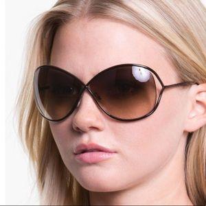 Tom Ford Miranda 68mm Open Temple Sunglasses